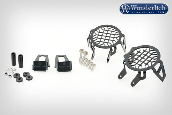 Wunderlich Auxiliary Light Protection Grill Nano - Black