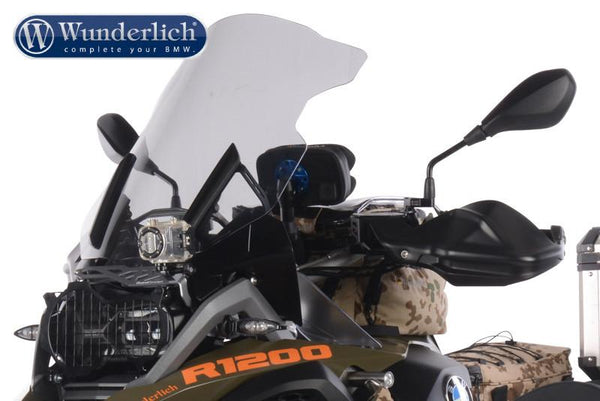 BMW R1200GS Accessories - Camera Mount (Above Headlight)