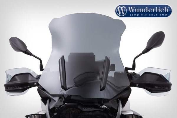 BMW R1200GS Ergonomics - Hand Guard Deflector