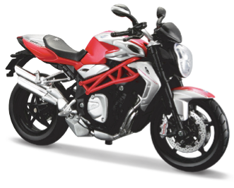 Maisto MV Agusta Brutale 1090 RR 1:12 Scale Model