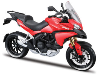 Maisto Ducati Multistrada 1200S 1:12 Scale Model