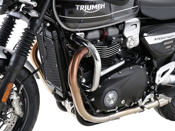 Engine Protection Bar - Chrome For Triumph Speed (2019+) - Hepco & Becker