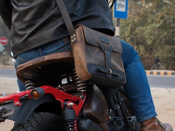 Messenger Bag - Tobacco Brown - Trip Machine Company