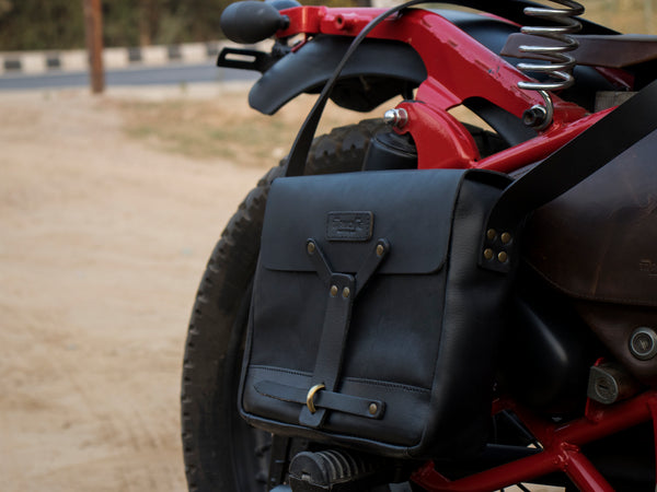 Messenger Bag - Black - Trip Machine Company
