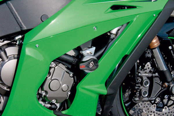 Kawasaki Versys 650 Protection - Frame Sliders - LSL - Bike 'N' Biker