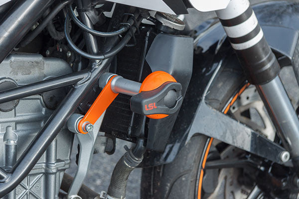 KTM Duke 390 (2013-16) Frame Sliders - Bike 'N' Biker