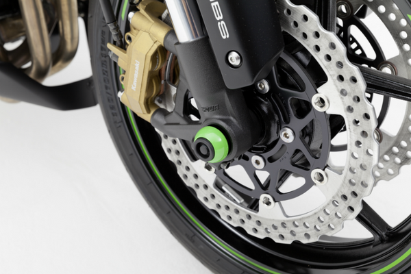 Yamaha YZF R3 Protection Axle Sliders - Bike 'N' Biker