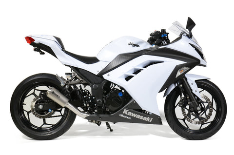 VZ9 Veloce Full System with Titanium Muffler Ninja 300 (13-17) - Brock's Performance