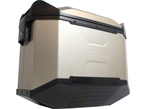 Xceed Side Cases - 38L Beige Silver - Hepco & Becker