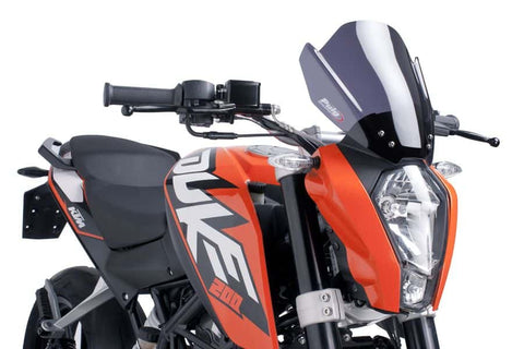 Naked New Generation Sport Windshield for KTM Duke (2013-16)  - Puig
