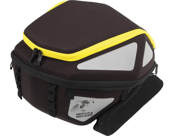 Tail/Rear Bag 27-32L Royster (Black Yellow) - Hepco & Becker