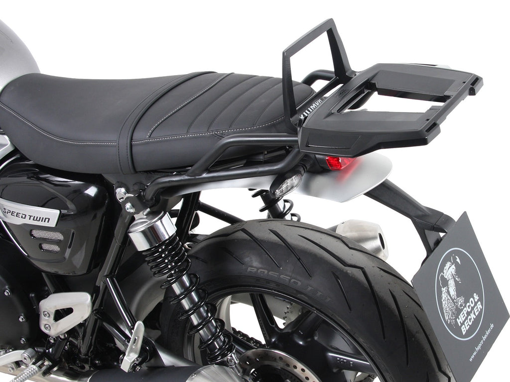 Alurack Topcase Carrier - Black For Triumph Speed (2019+) - Hepco & Becker