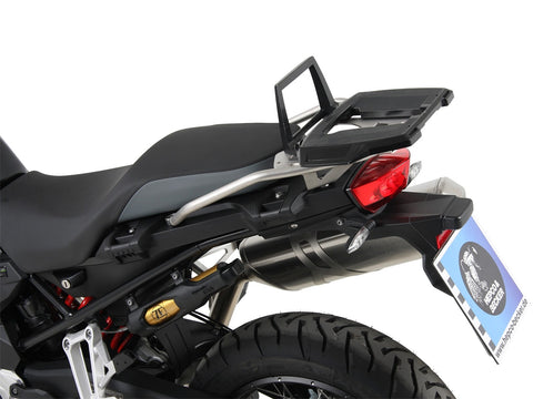 Hepco & Becker Alurack Top Case Carrier for BMW F 850 GS (2018-) - Black