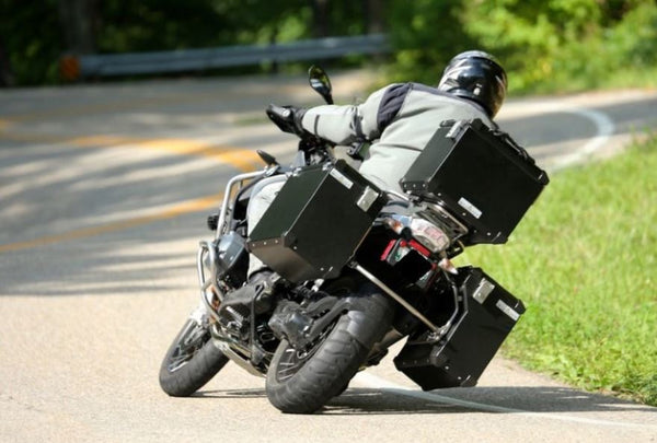 BMW R1200GS Luggage - Defender side cases (Black) Bumot