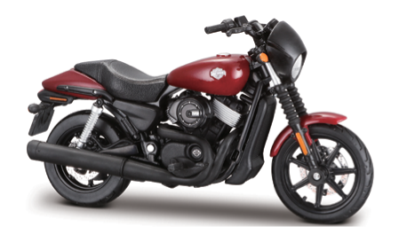 Maisto Harley Davidson Motorcycles 2015 Street 750 1:18 Scale Model