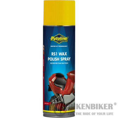 Putoline RS1 Wax Polish Spray 500ml - Bike 'N' Biker