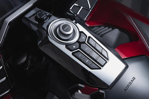 TWINART Switch Panel Cover - Honda Goldwing - Ciro Goldstrike