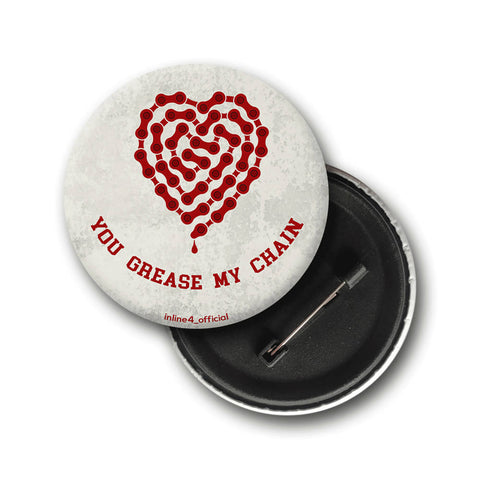 Grease my chain | Badge - Inline-4