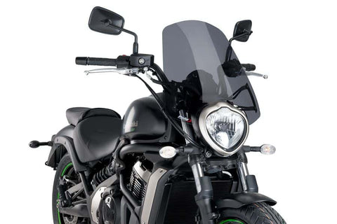 Naked New Generation Touring Windshield for Kawasaki Vulcan S - Puig
