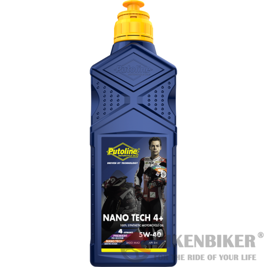 Putoline NanoTech5w-40 OIL 1000ml - Bike 'N' Biker