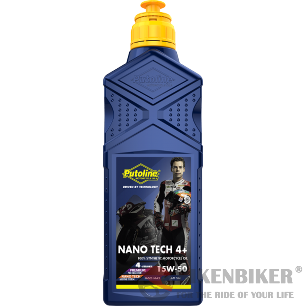 Putoline NanoTech 15W-50 Oil 1000ml - Bike 'N' Biker