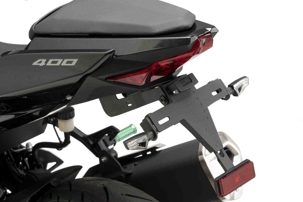 Kawasaki Ninja 400 License Plate Support 2018+ - Puig
