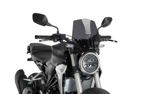 Windshield Naked New Generation Sport - Honda CB300R - Puig