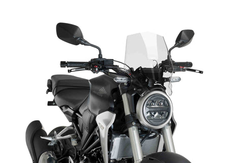 Windshield Naked New Generation Sport - Honda CB 300R - Puig