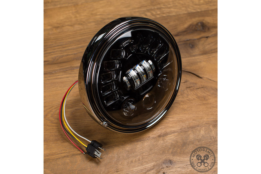 7 Inch Adaptive LED Headlight - Bike 'N' Biker
