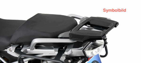 BMW R 1200 GS Alurack top case carrier black Hepco Becker - Bike 'N' Biker