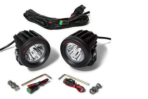 Aux LED Long Range Optimus by Cyclops Adventure - Bike 'N' Biker