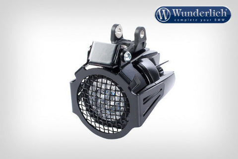 Auxiliary Light Protection Grill - Black - Bike 'N' Biker