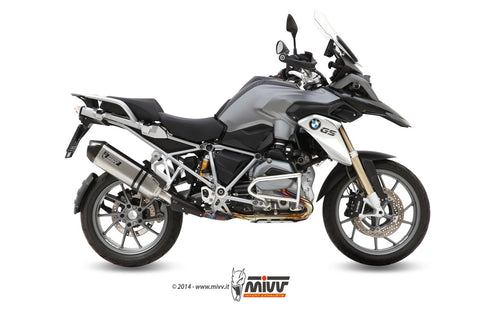 Speed Edge Slip On Exhaust for BMW R1200GS/ Adventure - Mivv