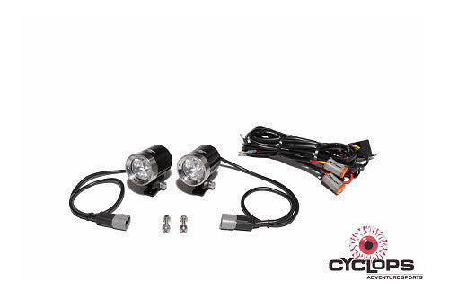 AUX LED 3330 Lumens B15 - Cyclops Adventure - Bike 'N' Biker
