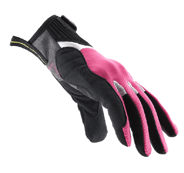 G-Flash Tex Lady Gloves Pink - Spidi