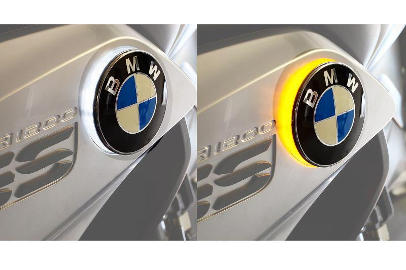 BMW R1200GS Styling - BMW Logo Indicator Lights