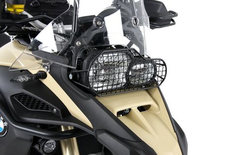BMW F800R Protection - Head light Guard - Bike 'N' Biker