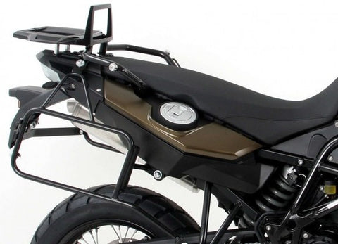 BMW F 650 GS Twin Sidecarrier Lock-it black - Bike 'N' Biker