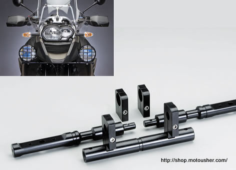 BMW GS 1200 Light bar for Auxillary Lights - Bike 'N' Biker
