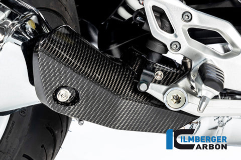 Front Silencer Cover for BMW R1250R - Ilmberger Carbon
