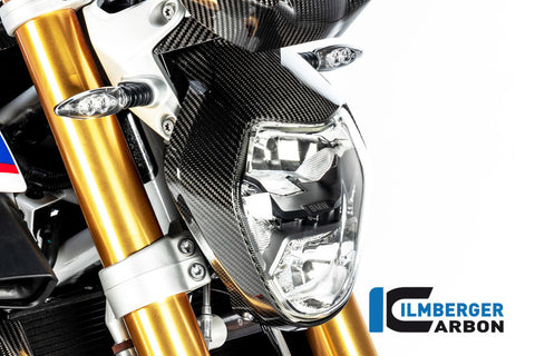 Headlight Cover for BMW R1250R - Ilmberger Carbon