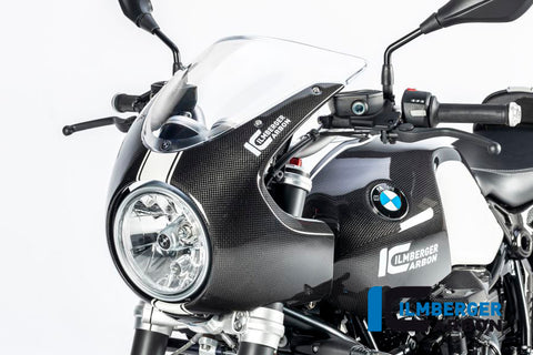 Carbon Front Fairing for BMW R Nine T - Ilmberger Carbon