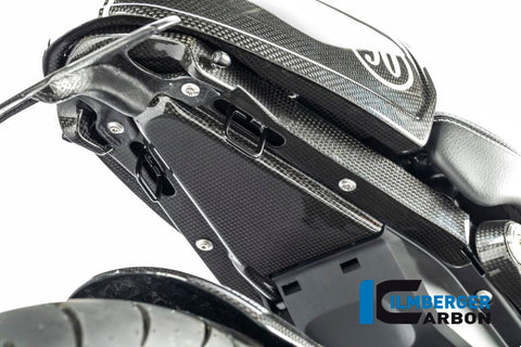 Rear Undertray (Without Number Plate Holder) for BMW R Nine T - Ilmberger Carbon