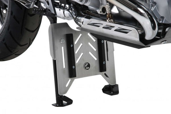 Center Stand protection plate BMW Enduro R 1200 GS Hepco Becker - Bike 'N' Biker