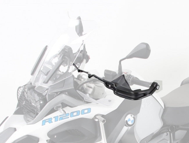 Hand guard set black BMW R 1200 GS Hepco Becker - Bike 'N' Biker