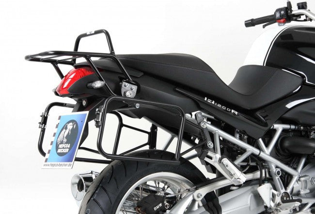 BMW R 1200 R Side carrier Lock it black Hepco Becker - Bike 'N' Biker