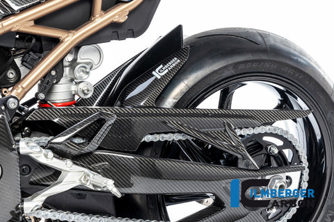 Ilmberger Rear hugger with chain guard S1000RR (2019 -) - carbon