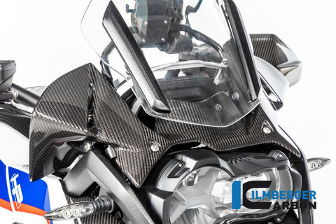 Wind Deflector for Instrument Cluster for BMW R1250GS/Adventure - Ilmberger Carbon