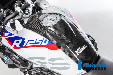 Carbon Center Tank Panel for BMW R1250GS - Ilmberger Carbon