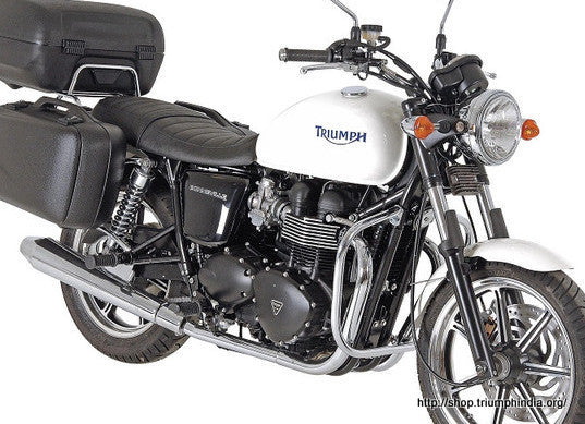 Triumph Bonneville T 100 SE Engine Crash Guard Hepco Becker - Bike 'N' Biker